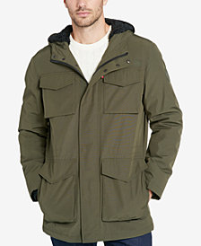 Levi's® Men's Arctic Hooded Fleece-Lined Parka