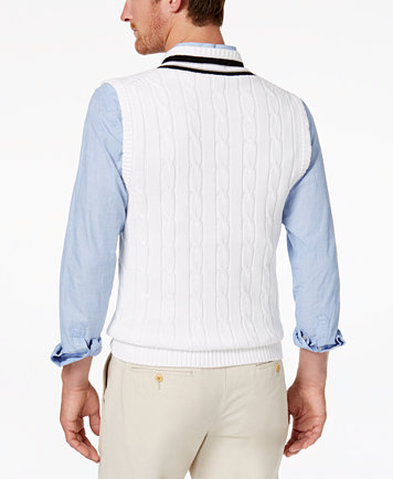 Club Room Men's Cricket Sweater Vest, Created for Macy's - Coats ...