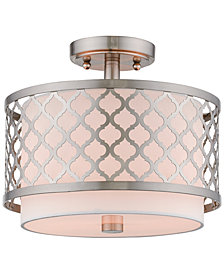 Livex Arabesque 2-Light Flush Mount