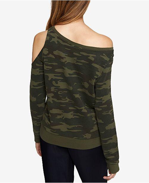 93604f2929824c Sanctuary Gramercy Cotton Off-The-Shoulder Sweatshirt   Reviews ...
