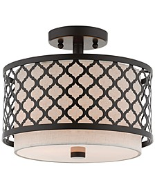 Arabesque 2-Light Semi Flush