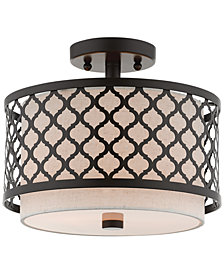 Livex Arabesque 2-Light Semi Flush