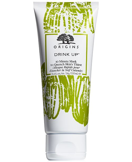 Origins Drink Up® 10 Minute Mask To Quench Skin's Thirst, 3.4 oz.