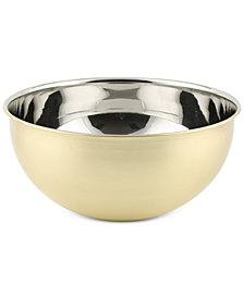 Thirstystone Brushed Gold-Finish Medium Bowl