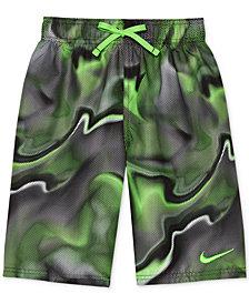 "Nike Printed Breaker 6"" Volley Swim Trunks, Little Boys"