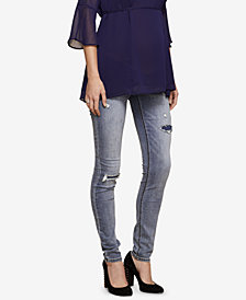 Jessica Simpson Maternity Destructed Skinny Jeans