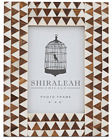 Shiraleah Boheme Triangle Inlay 4'' x 6'' Picture Frame