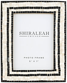 Shiraleah Griggio Mosaic 5'' x 7'' Picture Frame