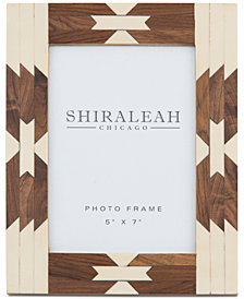 Shiraleah  5'' x 7'' Picture Frame with Navajo-Inspired Inlay