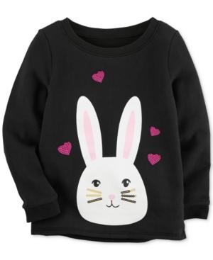 Carters Bunny Sweatshirt Little Girls (58)