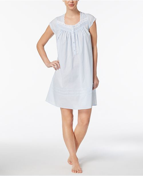 03591e3336 ... Eileen West Cap Sleeve Gown ...