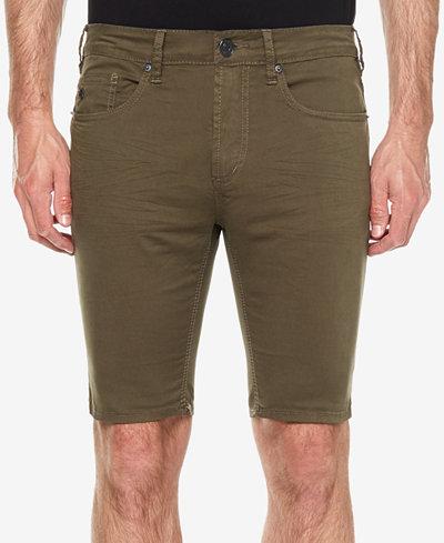 Buffalo David Bitton Men's Parker-X Slim-Fit Denim Shorts