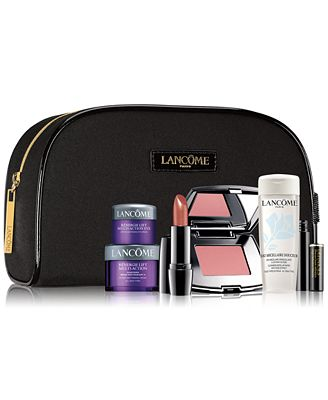 Receive a FREE 7-Pc. gift with any $35 Lancôme purchase (A $116 Value!)