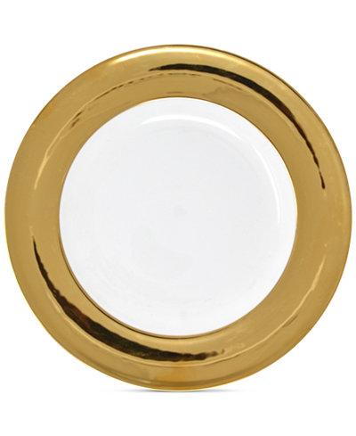 Darbie Angell Monaco Gold Dinner Plate