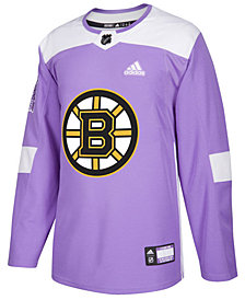 adidas Men's Boston Bruins Authentic Hockey Fights Cancer Jersey