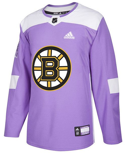 separation shoes 8c988 d0ef1 Men's Boston Bruins Authentic Hockey Fights Cancer Jersey