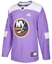 adidas Men s New York Islanders Authentic Hockey Fights Cancer Jersey 820a14d6b