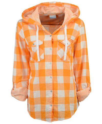 Columbia Women's Tennessee Volunteers Times Two Hooded Long Sleeve Shirt