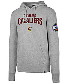 '47 Brand Men's Cleveland Cavaliers Double Double Pullover Hoodie