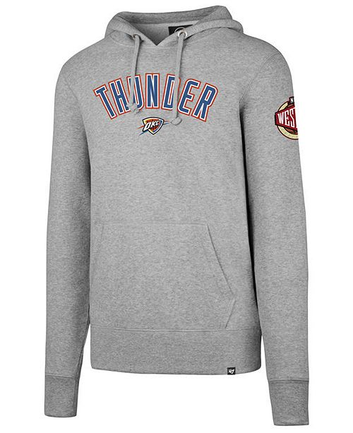 best service 44ae7 c2358 47 Brand Men's Oklahoma City Thunder Double Double Pullover ...