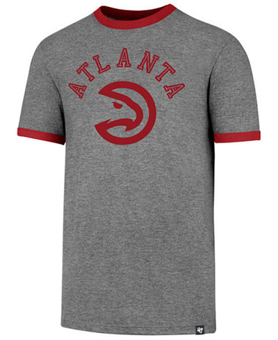 '47 Brand Men's Atlanta Hawks Capital Ringer T-Shirt