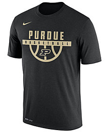 Nike Men's Purdue Boilermakers Legend Basketball T-Shirt