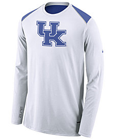 Nike Men's Kentucky Wildcats Basketball Long Sleeve Shooter T-Shirt