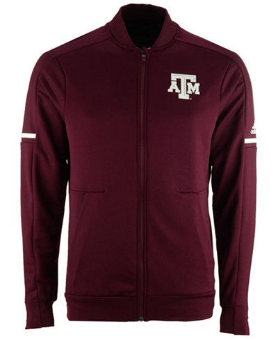 adidas Men's Texas A&M Aggies Sideline Warm-Up Jacket