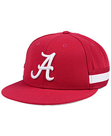Nike Alabama Crimson Tide True Woven Stripe Snapback Cap