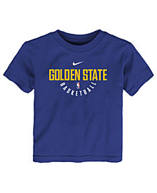 Nike Golden State Warriors Elite Practice T-Shirt, Little Boys (4-7)