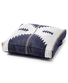Lucky Brand Kilim Pouf Decorative Pillow
