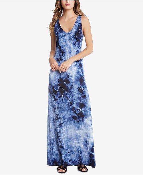 54106825cbf Karen Kane Tie-Dyed Maxi Dress   Reviews - Dresses - Women - Macy s