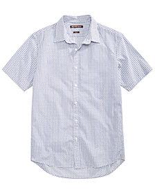 Michael Kors Men's Slim-Fit Geo-Print Shirt