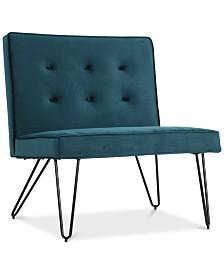Glynna Armless Chair, Quick Ship