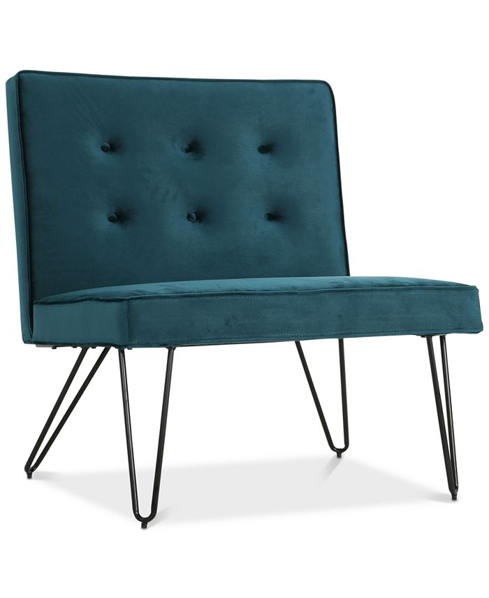 Noble House - Glynna Armless Chair, Quick Ship