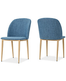 Oldan Dining Chair (Set Of 2), Quick Ship