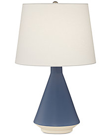 Pacific Coast Blue Ceramic Table Lamp