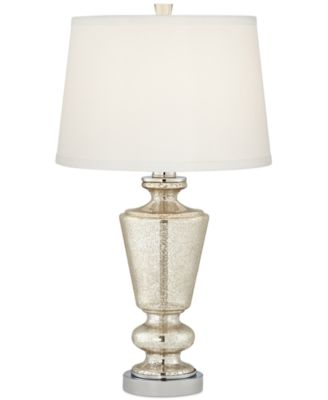 Image 1 Of Pacific Coast Silver Mercury Glass Table Lamp