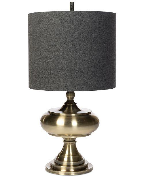 Harp & Finial Turner Table Lamp
