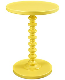 Tallen Spindle Table, Quick Ship