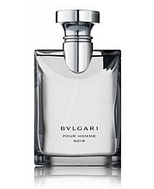 BVLGARI Men's Pour Homme Soir Eau de Toilette Spray, 3.4 oz.