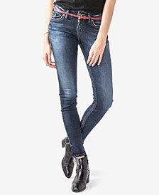 Juniors' Suki Super-Skinny Jeans