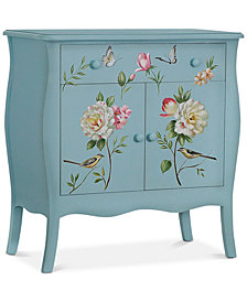 Floral Gardens Cabinet, Quick Ship