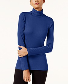 INC Ribbed-Knit Turtleneck, Created for Macy's