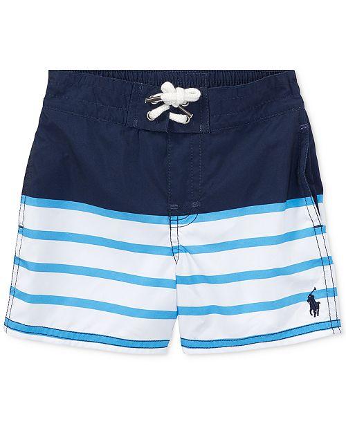 a8b1ba70e7860 ... Polo Ralph Lauren Ralph Lauren Sanibel Striped Swim Trunks, Baby Boys  ...