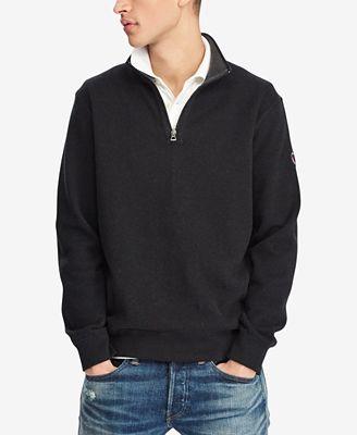 Polo Ralph Lauren Men's Reversible Half-Zip Sweater