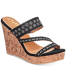 Callisto Sofiya Platform Wedge Sandals