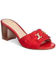 Callisto Taaj Block-Heel Dress Sandals
