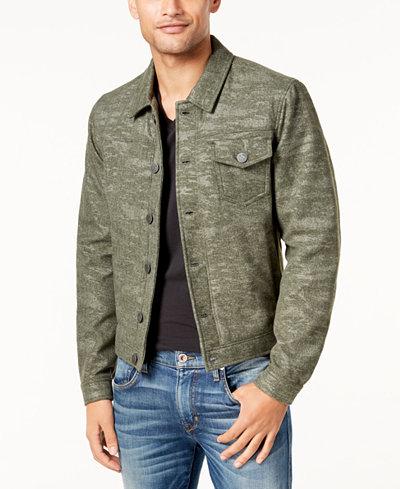 Calvin Klein Jeans Men's Wool Trucker Coat