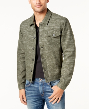 Calvin Klein Jeans Men's Wool Trucker Coat